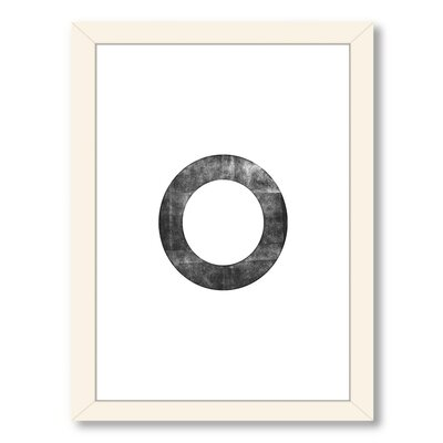 Circle Framed Textual Art A89P316WF1824