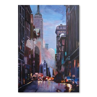 NYC 5th' by M Bleichner Original Painting Size: 24