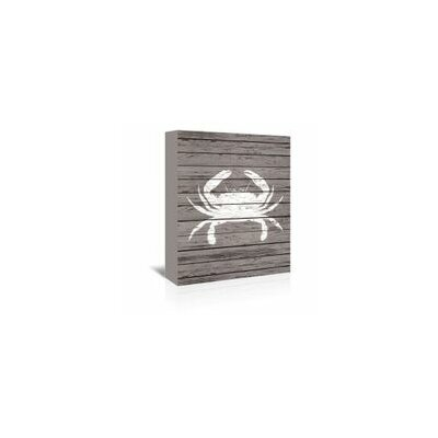 Samantha Ranlet Wood Quad Crab Graphic Art on Wrapped Canvas Size: 48