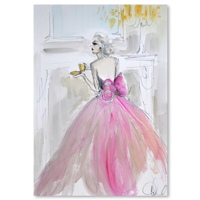 Afternoon Tea by Cara Francis Painting Print Size: 14