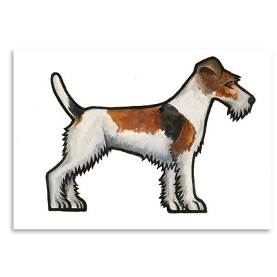 Fox Terrier by Sally Pattrick Original Painting Size: 18