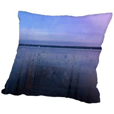 Scenery Art Finland Landscape Throw Pillow Size: 16