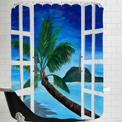 Markus Bleichner Window To Paradise Shower Curtain