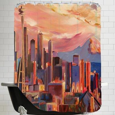 Markus Bleichner Seattle Shower Curtain