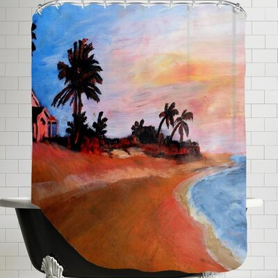 Markus Bleichner Varadero 2 Shower Curtain