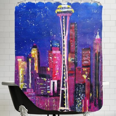 Markus Bleichner Seattle Stars Shower Curtain