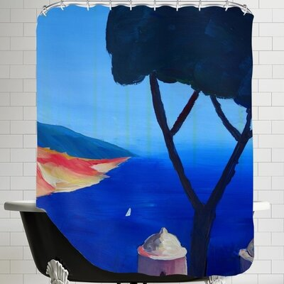 Markus Bleichner Ravello Amalfi Salerno Wonderful Coast Line 2 Shower Curtain