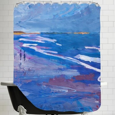 Markus Bleichner Seascape 2 Shower Curtain