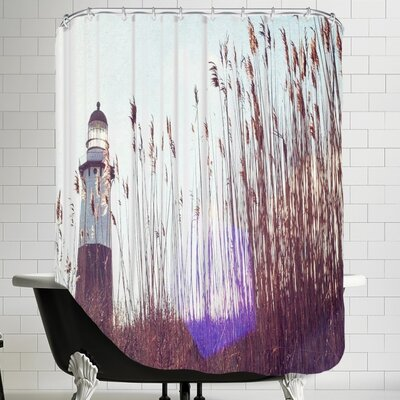 Mina Teslaru Lighthouse Shower Curtain