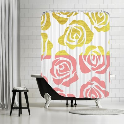 Aphan Rosesa 1 Shower Curtain
