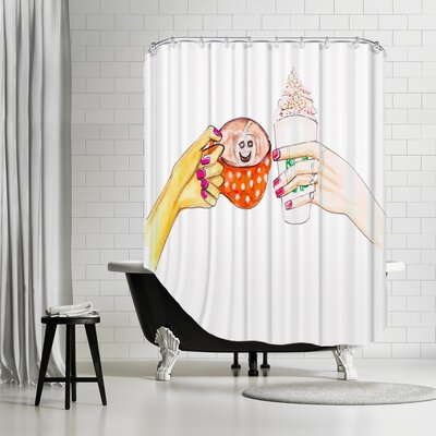 Palladium Hot Fall Drinks Shower Curtain