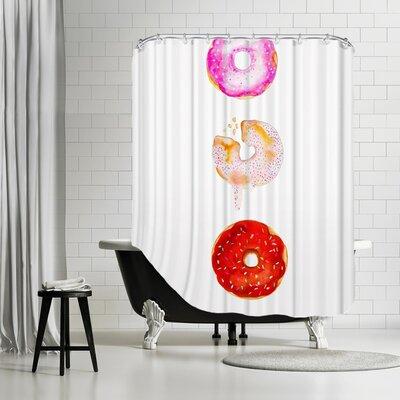 Palladium Doughnut Trio Shower Curtain