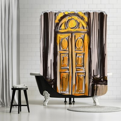 Amber Doors 2 Shower Curtain