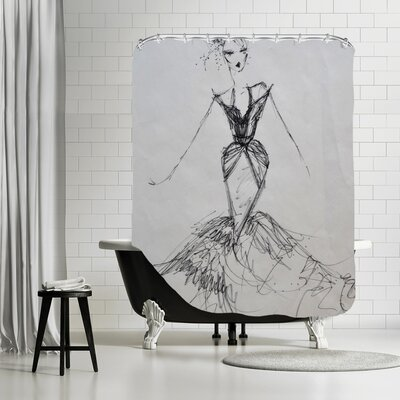 Greybull Night on the Town Shower Curtain