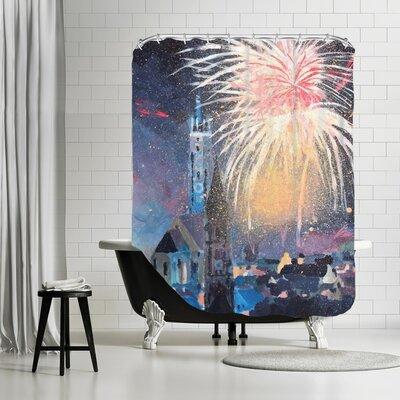 Markus Bleichner Villacorta Landshut Bavaria Fireworks Shower Curtain