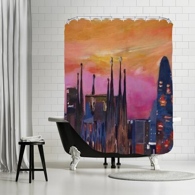 Markus Bleichner Doering Barcelona 3 Shower Curtain