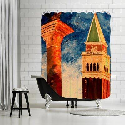 Markus Bleichner Coll Venice Campanile Shower Curtain