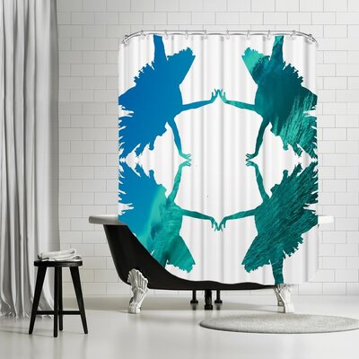 Ikonolexi Dance 1 Shower Curtain