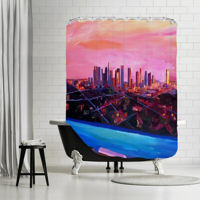 Markus Bleichner Watchman La Infinitity Shower Curtain