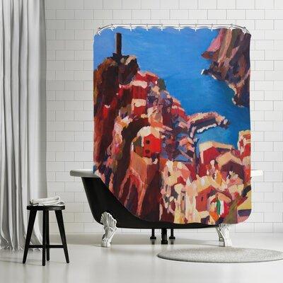 Markus Bleichner Liedtke Vernazza Cinque Terre Shower Curtain
