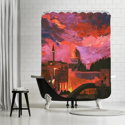 Markus Bleichner Hassinger Jerusalem 2 Shower Curtain