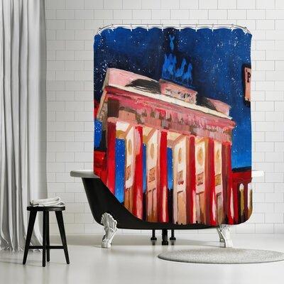 Markus Bleichner Richburg 2 Stars Shower Curtain