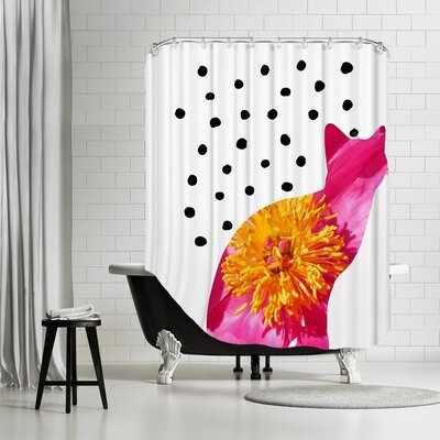 Ikonolexi Cat 3 Shower Curtain