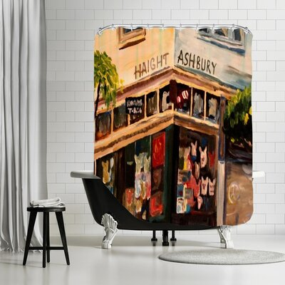Markus Bleichner Nuss Haight Ashbury Shower Curtain