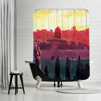 Markus Bleichner Kells Jerusalem 2 Shower Curtain