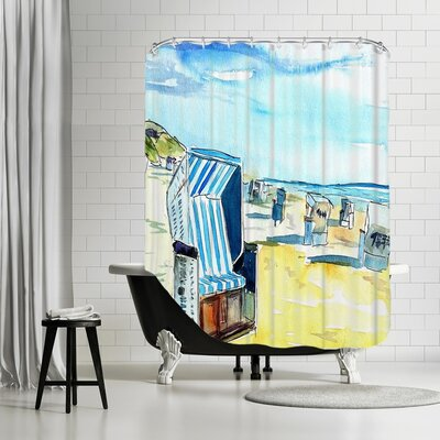 Markus Bleichner Parkhurst Sylt German Island Beach Shower Curtain