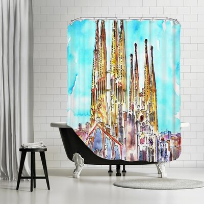 Markus Bleichner Voelker Sagrada Familia Barcelona Catalonia Neu Shower Curtain