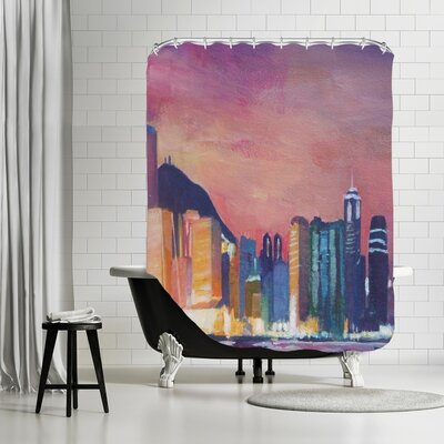 Markus Bleichner Cangelosi Hongkong Night Shower Curtain