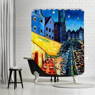 Markus Bleichner Hathcock Shower Curtain