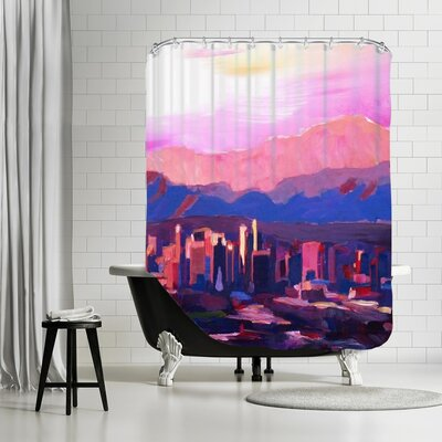 Markus Bleichner Schlater Phoenix Arizona Skyline Shower Curtain