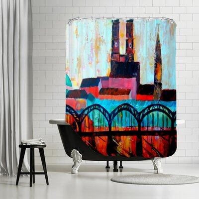 Markus Bleichner Simons Munchen Central Station Shower Curtain