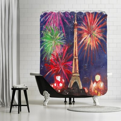 Markus Bleichner Ruggeri Paris Silvester Shower Curtain