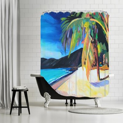 Markus Bleichner Henning Magens Bay St. Thomas USVI Shower Curtain