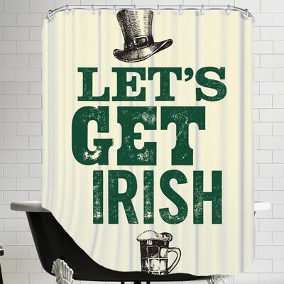 Lets Get Irish Shower Curtain