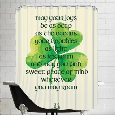 St. Patricks Day Shower Curtain