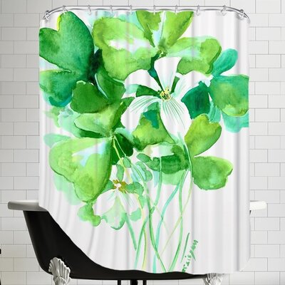 Shamrock Shower Curtain