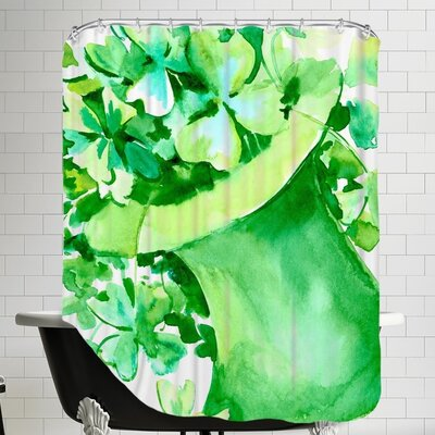 St. Patricks Day Shower Curtain