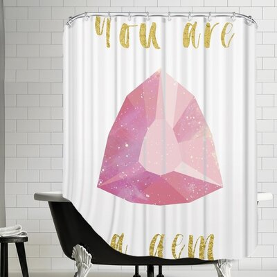 Grossular You Are a Gem Shower Curtain