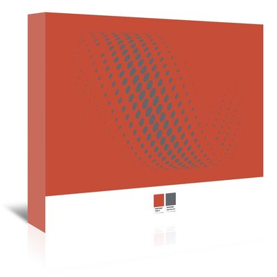 Grey Ovals by Armand Graphic Art on Wrapped Canvas Size: 32