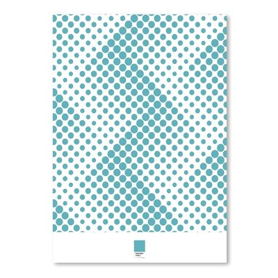 Dots on White by Armand Graphic Art Size: 24