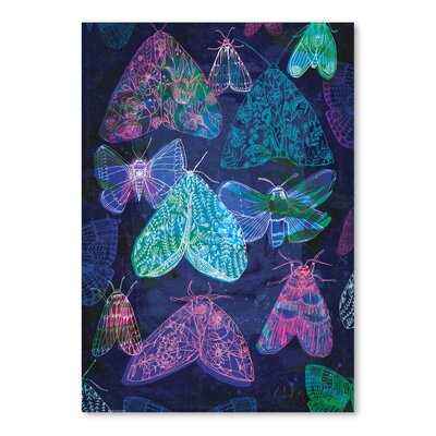 'Butterflies' by Paula Mills Graphic Art Size: 16