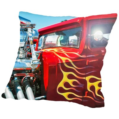 Guy Thing - 032 Throw Pillow Size: 14