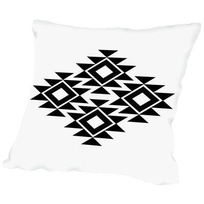Geometric Art 11 Throw Pillow Size: 16