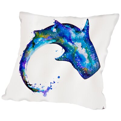 Celestial Throw Pillow Size: 18 H x 18 W x 2 D