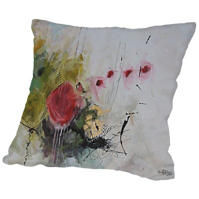 Eruptus Throw Pillow Size: 16