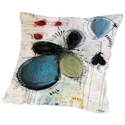 Motus Throw Pillow Size: 14 H x 14 W x 2 D